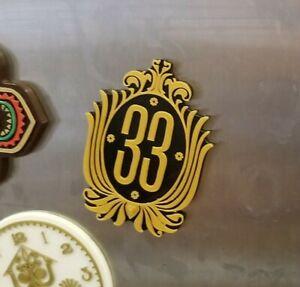 Club 33 Inspired Car & Fridge Magnet ( Disney / Park Prop Inspired Replica )
