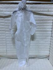 One Piece Lakeland Protective Suit Set Slv Coveral C9428 Md With Hood