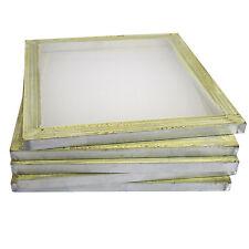 "6 Aluminum Silk Screen Printing Press Screens 110 Frame Mesh 18"" x 20"""