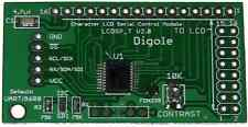 Serial Uarti2cspi Adapter For 16021604200220044002 Lcd Arduinoavrpic