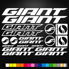Compatible Giant Vinyl Stickers Sheet Bike Frame Cycle Cycling Bicycle Mtb Road