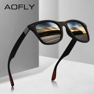 Ultralight-Tr90-Polarized-Sunglasses-Men-Women-Driving-Square-Aofly-New-Design
