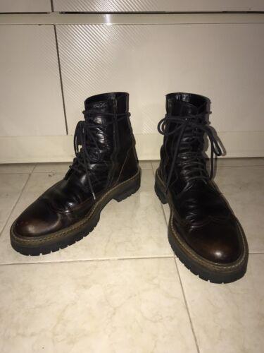 Ann Demeulemeester Black Boots