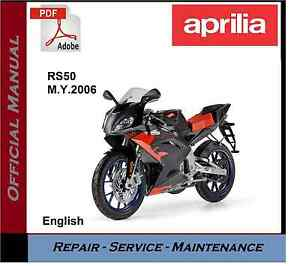 aprilia rs50 2006 onwards workshop service repair manual ebay rh ebay com au aprilia rs 50 manual pdf aprilia rs 50 2008 manual