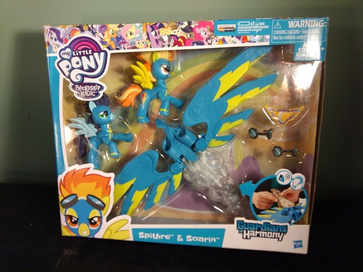 ~My Little Pony~The Movie~All About Soarin~Mini Figure~New Factory Sealed~
