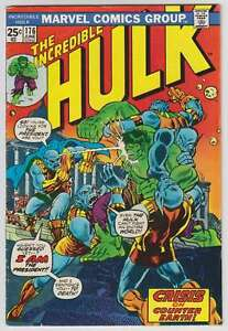 L6387-The-Incredible-Hulk-176-Vol-1-F-F-Estado