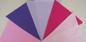 Fabric-Bunting-Pink-Lilac-Purple-Cerise-Wedding-Party-Decoration-Baby-Shower