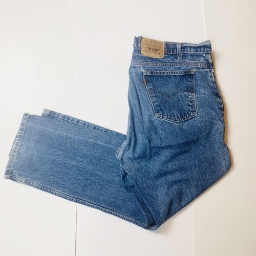 Vintage Distressed  Levis Orange Tab 505 Jeans 42… - image 1
