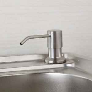 Image Is Loading EUB Deck Mounted Kitchen Sink Liquid Soap Dispenser