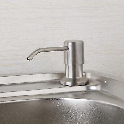 Us Kitchen Brushed Nickel Plastic Foamer Hand Soap