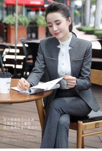 Women/'s Formal Suits Work Wear Office Uniform Designs Stylish Suits Blazers New