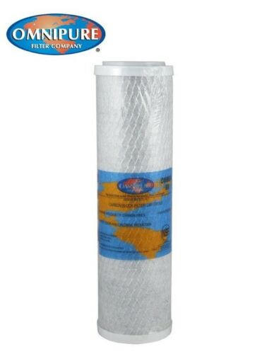 """Dura Compatible Carbon Block 5 Micron Water Filter 1906054 10/"""" OMB934 5M"""