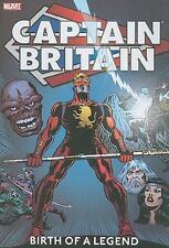 Captain Britain - Volume 1 : Birth of a Legend (2011, Hardcover)