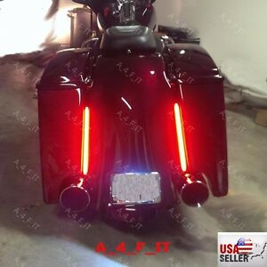 Tail running brake signal led light strip for harley davidson senal de freno de cola corriendo amp led aloadofball Image collections