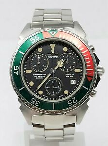 Orologio-Sector-underlab-ste-100-chrono-watch-diving-100-meters-clock-diver