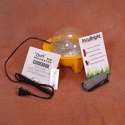 NEW Chickbator Egg Incubator 9100 Hatch + Egg Candler   Small Hobby Incubator