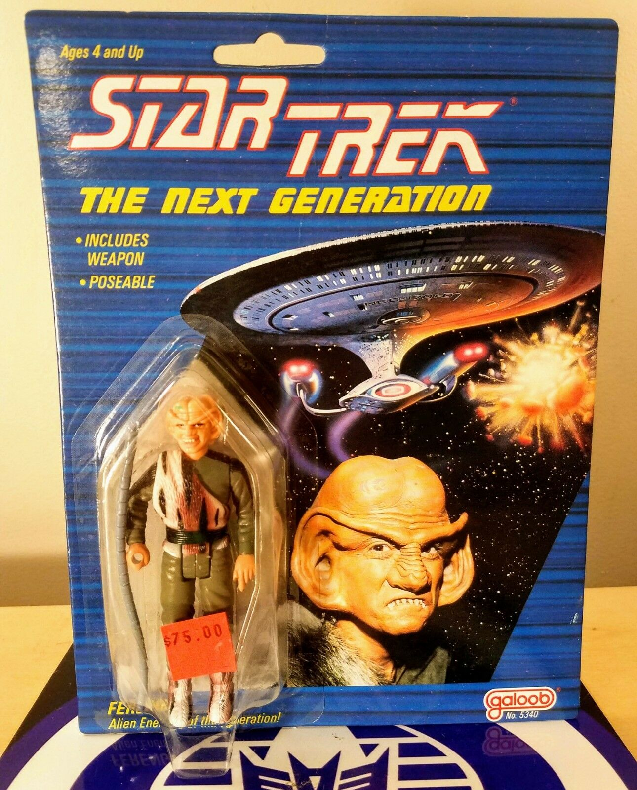 FERENGI STAR TREK THE NEXT GENERATION GALOOB 1988 NEW SEALED EXCELLENT RARE
