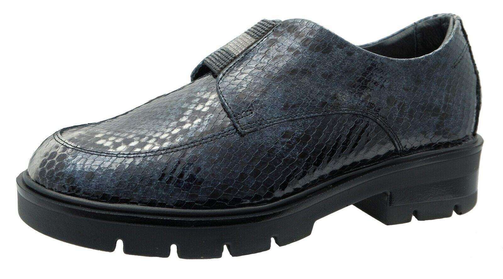 24 HRS Chaussures Pour Femme Confort Multicolore Cuir Verni Ref.24752