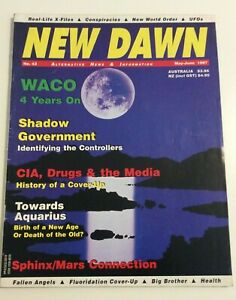 NEW-DAWN-MAGAZINE-42-1997-Sphinx-Mars-Connection-Conspiracy-amp-Cover-Ups