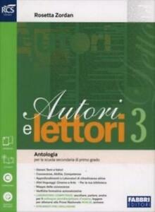 Autori-e-lettori-vol-3-Fabbri-scuola-Zordan-codice-9788891506535