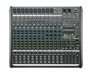 Mackie ProFX16 V2 16-Channel Professional 4-Bus Effects Mixer With USB