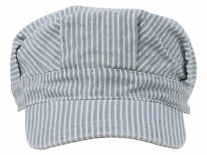 Conductor-039-s-Cap-Light-Blue-Stripe-Youth