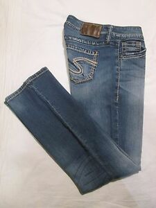 SILVER JEANS * Womens Stretch LOLA 17