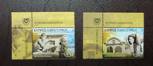 2016-CYPRUS-FOUNTAINS-SET-OF-2-MINT-STAMPS