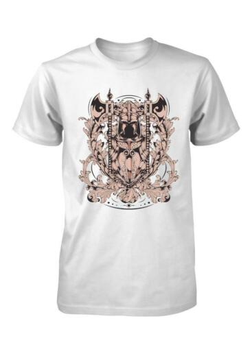 BNWT KNIGHT COAT OF ARMS SWORD AXE MEDIEVAL SHIELD QUALITY ADULT T SHIRT S-XXL