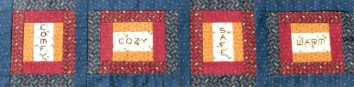 """Cozy Warm/"""" Fabric Kit M405.07 Safe Row by Row 2016 /""""Comfy Sold by the Kit"""