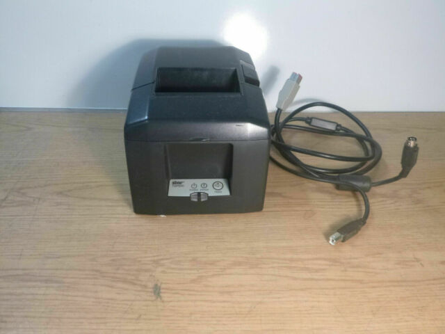 Star Tsp100 futurePRNT TSP143U Thermal Receipt USB Printer Black