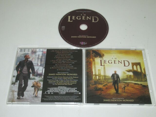 James Newton Howard – I Am Legend / Varèse Sarabande – VSD-6878 CD ALBUM