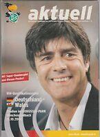 Orig.PRG   WM Qualifikation  15.10.2008   DEUTSCHLAND - WALES  !!  SELTEN