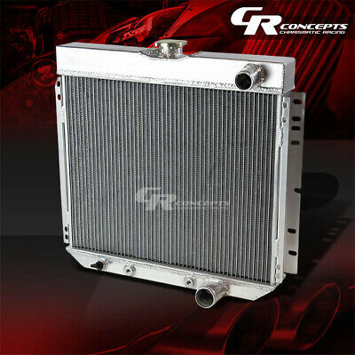 Aluminum 3 Row Core Performance Radiator for 63-70 Mustang//LTD//Cougar//Galaxie
