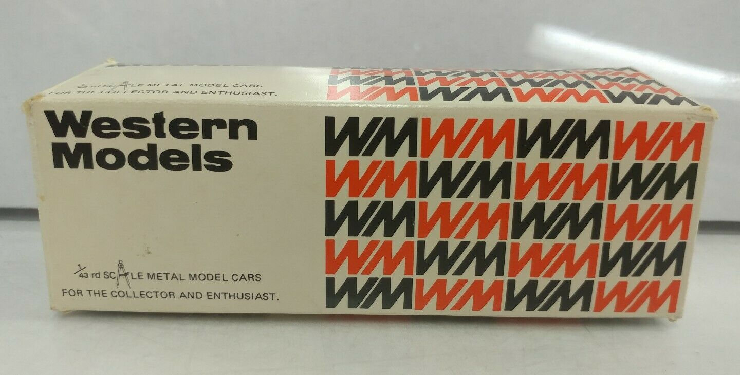 NEW Rare 1 43 Scale 1982 Aston Martin V8 WP by Western Models England