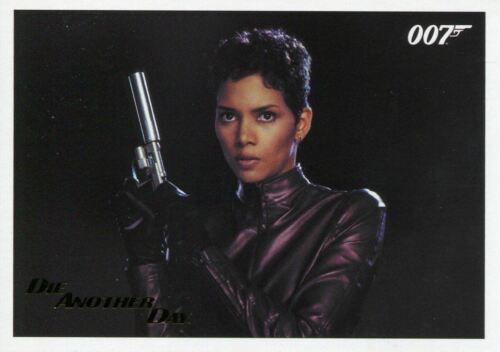 James Bond Archives 2017 Final Ed Die Another Day Gold Stamped Base Card #56