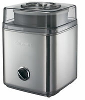 Cuisinart Ice30 Ice Cream Maker Best For Yogurt Large 2 L Automatic- Silver