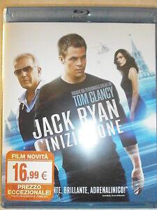 JACK-RYAN-L-039-INIZIAZIONE-FILM-IN-BLU-RAY-Nuovo-COMPRO-FUMETTI-SHOP