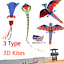 Summer-Huge-3D-Cartoon-Kite-Single-Line-With-Tail-Family-Child-Outdoor-Sport-Toy thumbnail 1