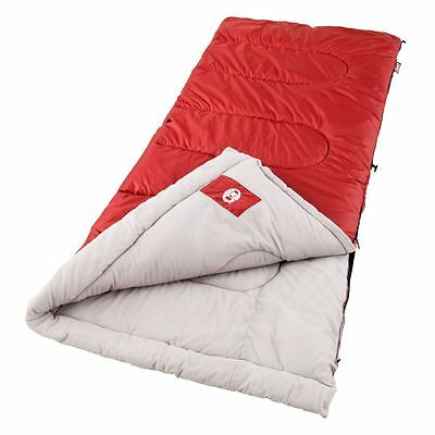 Coleman Sleeping Bag Palmetto, Red Colour