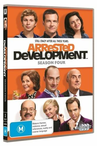 1 of 1 - Arrested Development : Season 4 (DVD, 2014, 3-Disc Set)