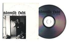 Cd PROMO NICCOLO' FABI Decirse adios en Roma - cds cd singolo single promotional