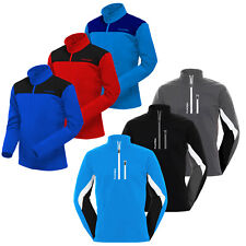 FUNKTION GOLF Thermal Performance Mens Golf Pullover Sweater Fleece Lined Jumper