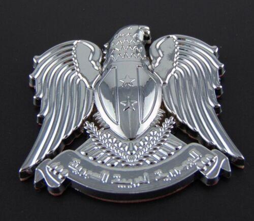 3D Metal Chrome Eagle Badge Car Trunk Emblems Decal Sticker Auto Motorcycle Tank