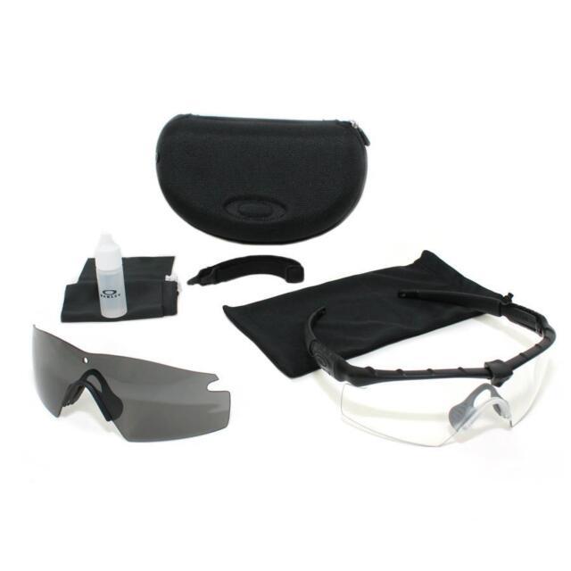 Oakley SI M Frame 2.0 Ballistic Shooting Sunglasses MCPES Class1 Gray+Clear  lens a8aa239792