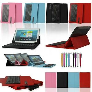 Bluetooth-Keyboard-Universal-Leather-Stand-Case-For-Samsung-Galaxy-7-034-10-034-Tablet