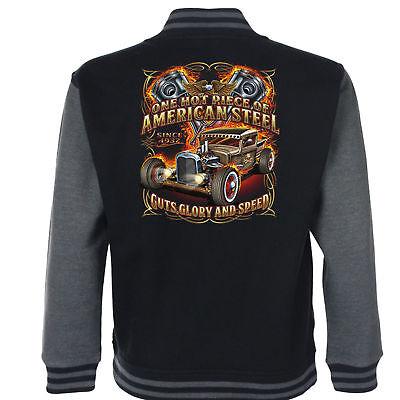 GüNstig Einkaufen Hotrod 58 Hot Rod American Stahl Uni Garage Jacke Klassisch Oldtimer 247 Durch Wissenschaftlichen Prozess