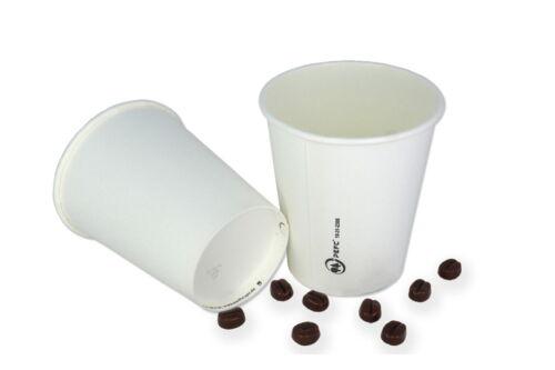 ca 60 Stück 0,2l 10oz weiß OK compost HOME Earth Cup® Kaffeebecher to go