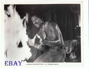 Image is loading Barechested-man-Scream-Blacula-Scream-VINTAGE-Photo
