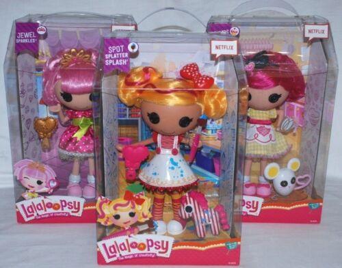 Lalaloopsy LARGE DOLLS & i propri animali-Scegli tra 3 diverse bambole nuovo con scatola
